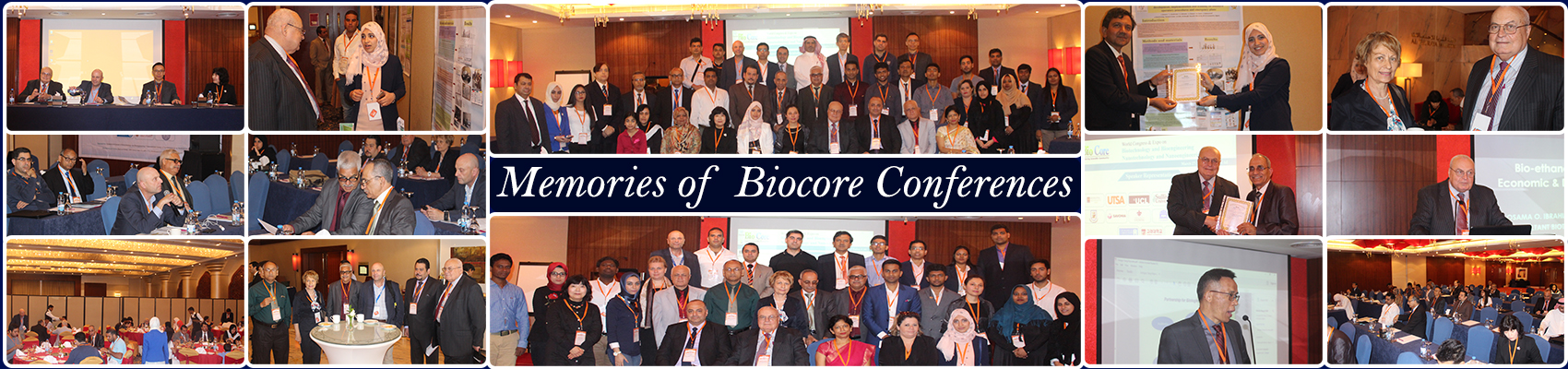 Biocore Conferences Gallery